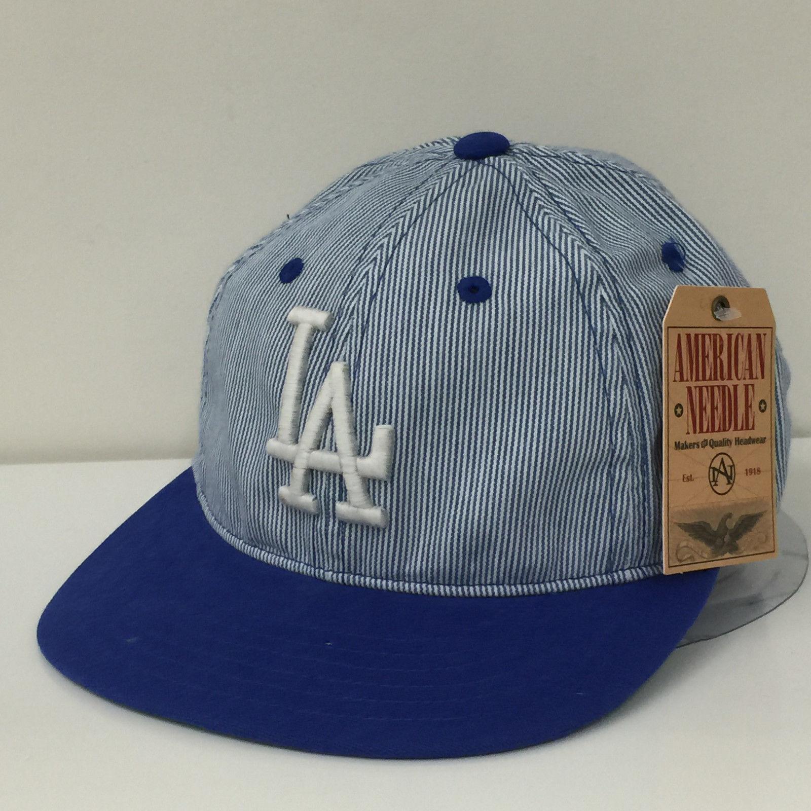American Needle MLB Los Angeles Dodgers Upper Deck Adjustable Cap Hat 12945