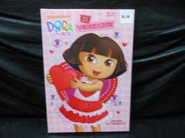 Nickelodeon Dora The Explorer 32 Valentines Cards & 35 Stickers - $4.90