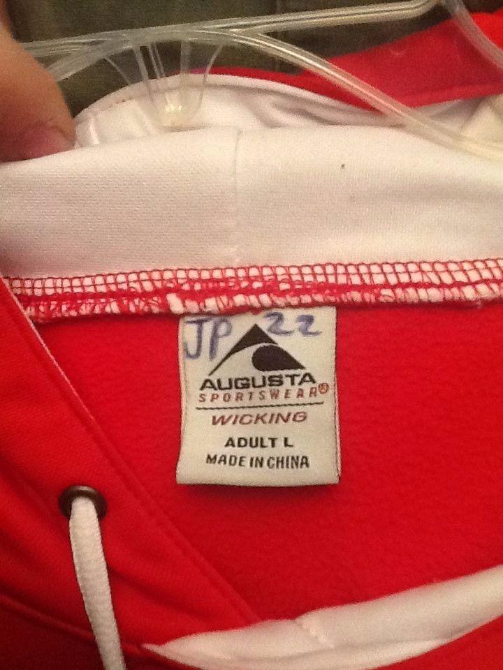 Augusta Sportswear Adult Size L Hooded Pullover Jacket - Bulldogs