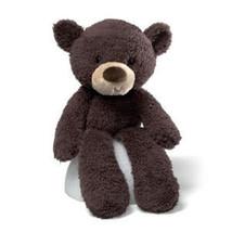 "GUND Fuzzy Chocolate Bear - 13.5"" - $12.49"
