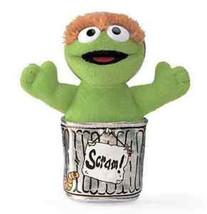 "GUND Sesame Street ""Oscar the Grouch"" Beanbag Toy, 5"" - $7.98"