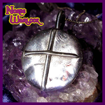 King Arthur Knights of The Round Table Cross of Protection! Merlin's Magick!  - $299.99