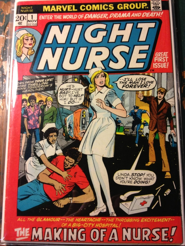 Primary image for Night Nurse # 1 FINE Marvel Comics