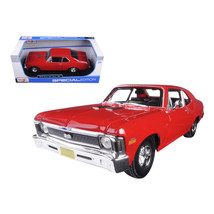1970 Chevrolet Nova SS Coupe Red 1/18 Diecast Model Car by Maisto 31132r - $46.47