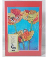 Lang Orange Poppies Flowers 300 Piece Nature Puzzle Elizabeth St Hilaire... - $21.77
