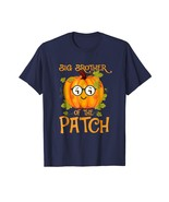 New Shirts - Pumpkin Big Brother of the Patch Halloween Costume Shirt Men - $19.95+