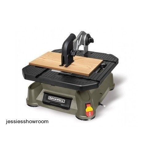 Portable Compact Tile Plastic Wood Metal Tabletop Saw Cross & Rip Cuts New - $177.64