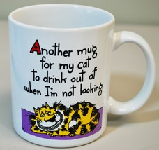 "Shoebox Greetings Coffee Mug - Naughty Cat ""Mug for my cat to drink out of"" - $19.70"
