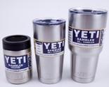 YETI Rambler Stainless Steel Cups Cooler Tumbler Travel Vehicle Beer Mug 12-64oz