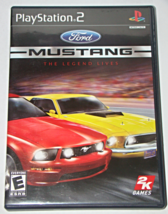 Playstation 2 - Ford MUSTANG - THE LEGEND LIVES (Complete with Manual) - $6.25