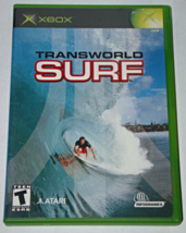 XBOX - TRANS WORLD SURF (Complete with Manual) - $12.00