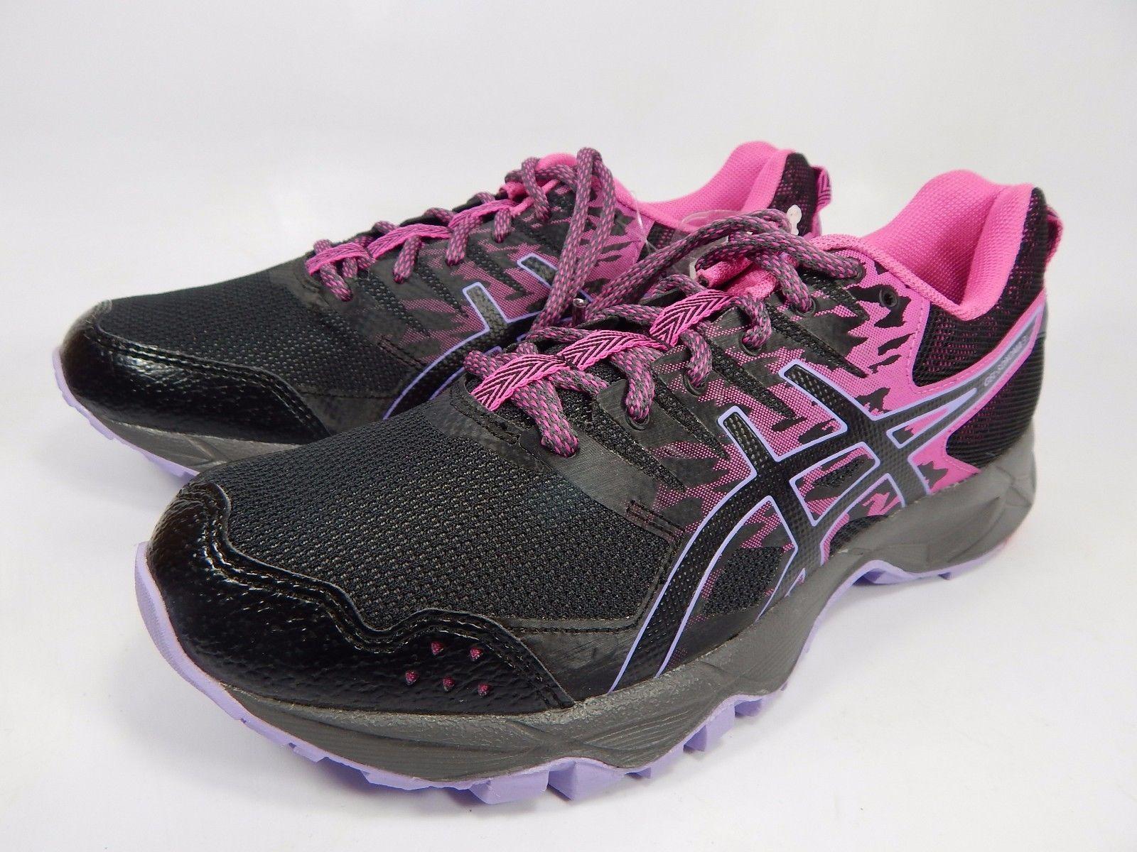 Asics Gel Sonoma 3 Women's Trail Running Shoes Size US 7 M (B) EU 38 Black T774N