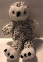 "Build A Bear Turner White Snowy Spotted Owl Plush 15""Stuffed Animal BABW... - $23.36"