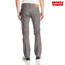 Levis 501 Button Fly Mens Jeans Color Shaded Grey - $49.00