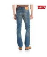 Levis 501 Button Fly Mens Jeans Color Sunkist G... - $49.00