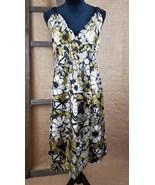 Jigsaw women's dress ethnic print sleeveless knee length 100% silk NWT - $118.80
