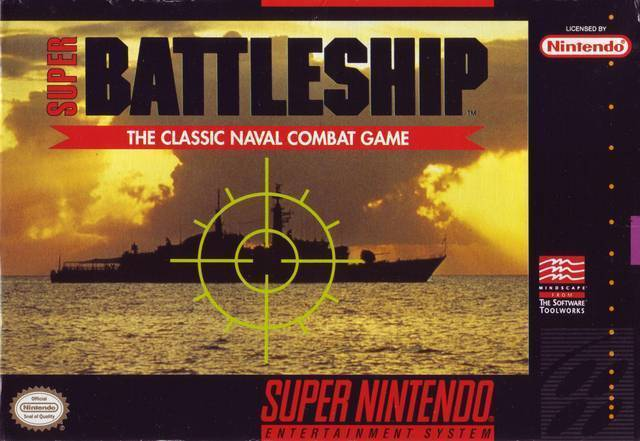 Super Battleship SNES Great Condition Fast Shipping