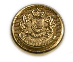 "Ralph Lauren RL Crown Logo Gold Color Replacement Main button .60"" - $4.90"