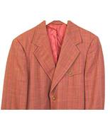 Vintage 1970's Sportsman by Richman Brothers Striped Blazer Jacket Sz  40 - $48.45