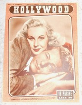 Hollywood 1949 #214 Magazine Virginia Mayo Isa Pola - $4.00