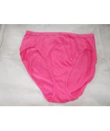 Hanes 8 XL Salmon Pink Panties 100% Cotton Tagless - $10.88