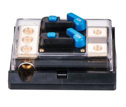 APS 60 Amp DUAL In-Line Circuit Breaker/ Power distribution block SKCB-0... - $18.69