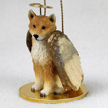 SHIBA INU ANGEL DOG CHRISTMAS ORNAMENT HOLIDAY Figurine Statue - $12.38