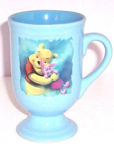 Disney Store Winnie Pooh Coffee  Mug  Baby Blue Footed Cup Retired - $54.95