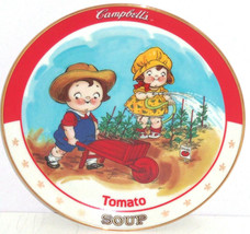 Campbells Kids Tomato Soup Collector Plate Bradford Exchange Vintage - $59.95