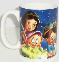 Disney Store Coffee Mug Snow White Dopey Pinocchio Pooh Mickey Tink Cup ... - $59.95