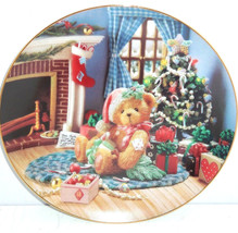 Cherished Teddies Collector Plate Happy Holiday... - $49.95