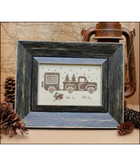Greetings From America Post Card cross stitch c... - $4.00