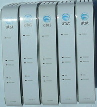 x5 - AT T 2WIRE 2701HG B Gateway WIRELESS modem ROUTER DSL WiFi ethernet... - $57.38