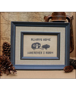 Greetings From Wherever Post Card cross stitch ... - $4.00