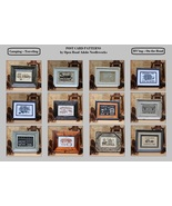 FULL BUNDLE Post Card charts (12pcs) cross stit... - $43.20