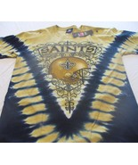 NEW ORLEANS SAINTS Tie Dye V Dye T-Shirt  LICENSED NFL TEAM APPAREL - $26.50