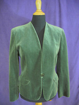 Vintage Velveteen Blazer from Giorgio Armani Diffusion Line Mani Moss Gr... - $43.00