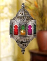 10016068 Gallery of Light Rainbow Hanging Candle Lantern - $54.95