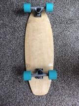 "Campus Cruiser Skateboard 29"" X 9.5"" Custom Grip And Body Glove Wheels - $74.25"