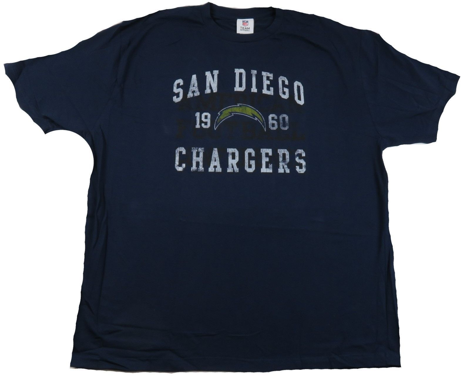 San Diego Chargers Shirt Men's NFL Vintage Est. Year Tee Football T-Shirt NEW