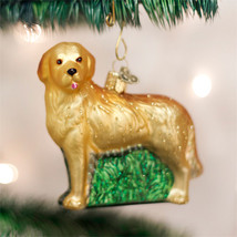 Golden Retriever Glass Ornament - $18.95