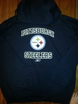Pittsburgh Steelers Hooded Sweatshirt Hoodie New Nfl Hoody Licensed Nfl Apparel - $39.99