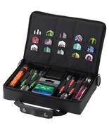 Casemaster CLASSIC BLACK Injection Molded Hard Nylon Dart Case HOLD 4 SE... - $38.99