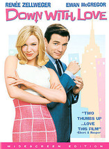 DOWN WITH LOVE widescreen DVD + 14 BONUS extras, cased LIKE NEW - MINT C... - $5.93