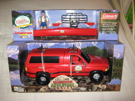 Coleman van with figure & kayak - $18.00