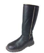 US 8 EU 39 Ugg Australia Brooks Tall Black Leat... - $196.02