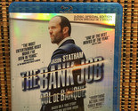 The Bank Job (2-Disc Blu-ray, 2008)Rare Foil Cover.True Story British Robbery.