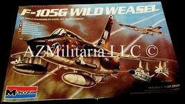 F-105G Wild Weasel 1/72 5431-0100 Monogram Sealed 1984 Copyright - $19.75