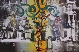 """Romare Bearden """"Introduction Of A Blues Queen"""" 1979 - Signed Print - Gal... - $4,500.00"""