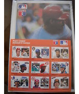 1990 Major League Baseball Grenada Stamps Colle... - $19.11